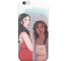 Morgana and Gwen iPhone Case/Skin