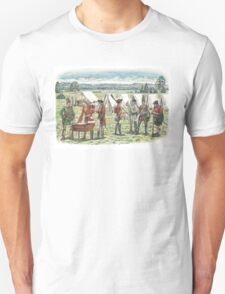 British Troops at the Battle of Quebec 1759 T-Shirt