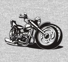 Cartoon Motorbike One Piece - Short Sleeve