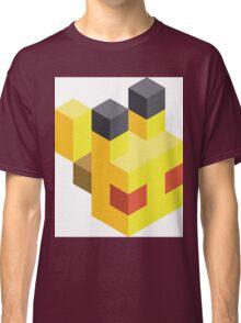 Pikachu Voxel Classic T-Shirt