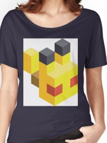 Pikachu Voxel Women's Relaxed Fit T-Shirt