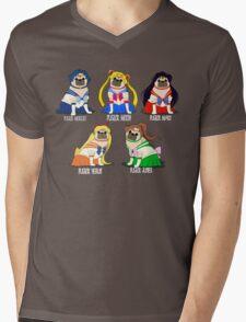 SAILOR PUGS! Mens V-Neck T-Shirt