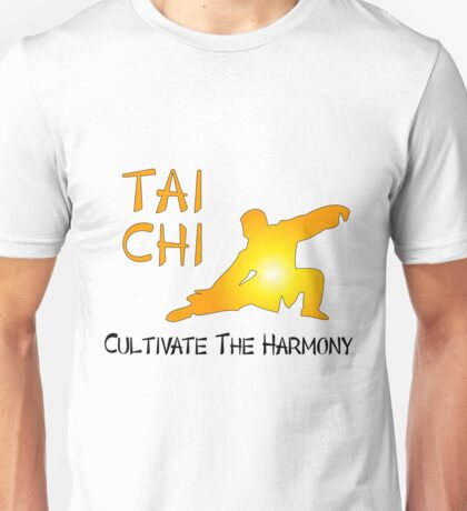 Tai Chi - Cultivate The Harmony Unisex T-Shirt