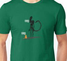 Alien Vs Jonesy Unisex T-Shirt