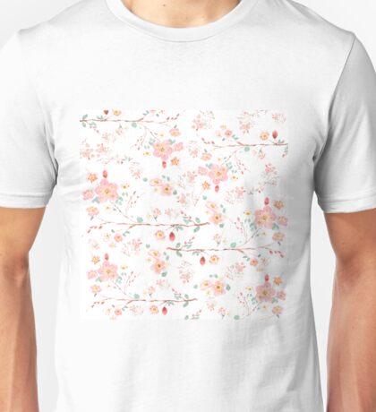 flower pattern 2 Unisex T-Shirt