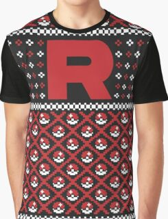 Team Rocket Sweater Graphic T-Shirt