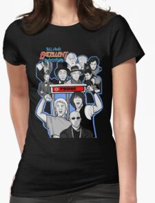 Bill and Ted's excellent adventure Womens Fitted T-Shirt