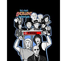 Bill and Ted's excellent adventure Photographic Print