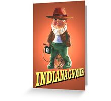 Indiana Gnomes Greeting Card