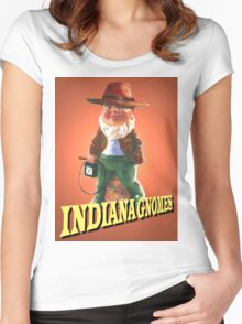 Indiana Gnomes Women's Fitted Scoop T-Shirt