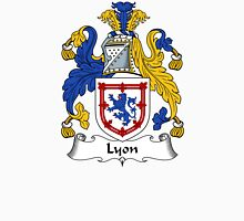 Lyon Coat of Arms / Lyon Family Crest Unisex T-Shirt