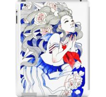 Planes and Peonies iPad Case/Skin