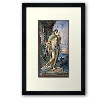 Vintage famous art - Gustave Moreau - Song Of Songs 1893 Framed Print