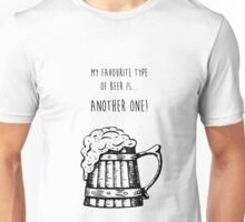 Favourite Beer Unisex T-Shirt