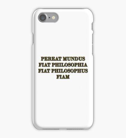 Nietzsche explains the ascetic ideal iPhone Case/Skin