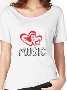Music!  Women's Relaxed Fit T-Shirt