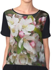 More Crabapple Blossoms Chiffon Top