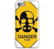 Heisenberg  Danger Toxic - Breaking Bad iPhone Case/Skin