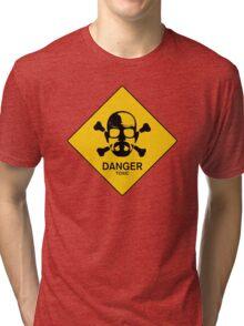 Heisenberg  Danger Toxic - Breaking Bad Tri-blend T-Shirt