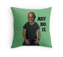 Just Do It Ainsley Harriott Throw Pillow