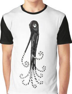 Saturn: the Licorice Legged Octopus Graphic T-Shirt