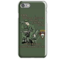 C 52 Long Range Surveillance iPhone Case/Skin