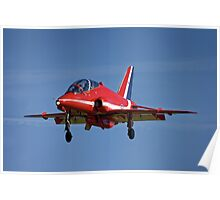 Red Arrows BAE Systems Hawk T1 Poster