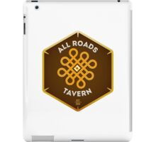 "All Roads Tavern ""Dice Sign"" Full Color Logo iPad Case/Skin"
