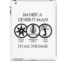 Devout Man iPad Case/Skin
