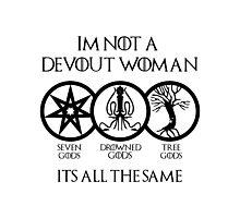 Devout Woman Photographic Print