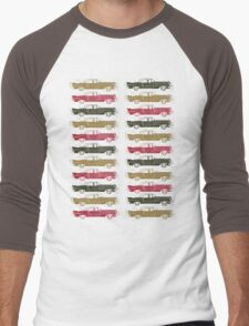 Cadillac Fleet Men's Baseball ¾ T-Shirt