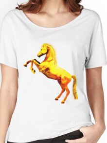 Stallion Women's Relaxed Fit T-Shirt
