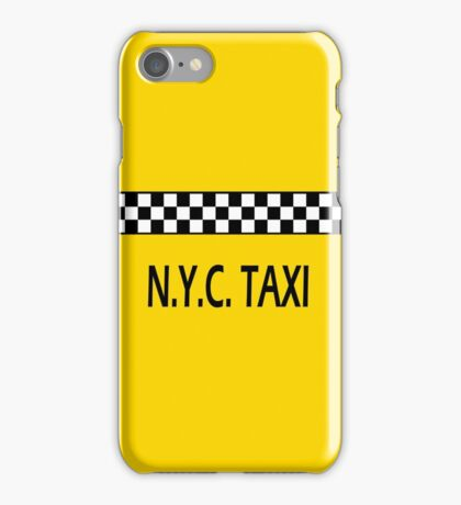 The New York City Taxi iPhone Case/Skin