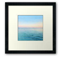 see the sea /Agat/ Framed Print
