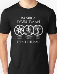 Devout Man (Dark) Unisex T-Shirt