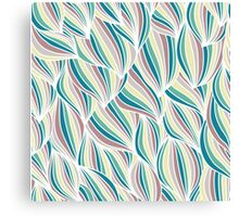 Waves seamless  Canvas Print