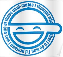 Best Quality Ghost in the Shell Laughing Man Logo super HD Poster
