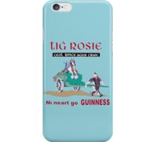 GUINNESS VINTAGE GUINNESS IN IRISH GAELIC iPhone Case/Skin
