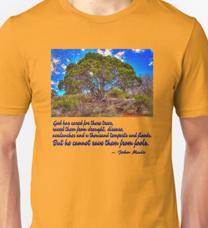 He Cannot Save Them From Fools Unisex T-Shirt