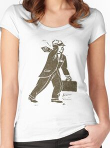 Rush Hour Man Women's Fitted Scoop T-Shirt