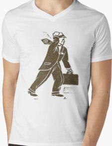 Rush Hour Man Mens V-Neck T-Shirt