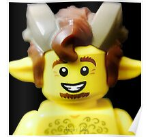 Lego Faun minifigure Poster