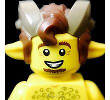 Lego Faun minifigure Photographic Print