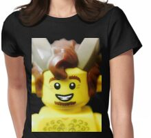 Lego Faun minifigure Womens Fitted T-Shirt