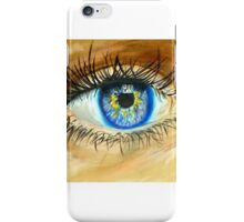 Realistic Eye Painting iPhone Case/Skin