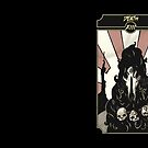 Death - Sinking Wasteland Tarot by JamesGrimlee