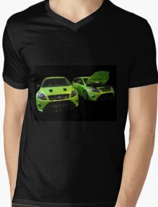 Two Green Focus RS Mens V-Neck T-Shirt