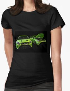 Two Green Focus RS Womens Fitted T-Shirt