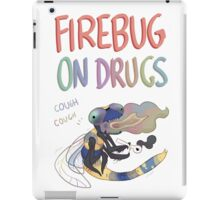Firebug On Drugs iPad Case/Skin