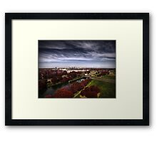 Spring To Fall Framed Print